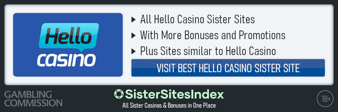 Hello Casino sister sites