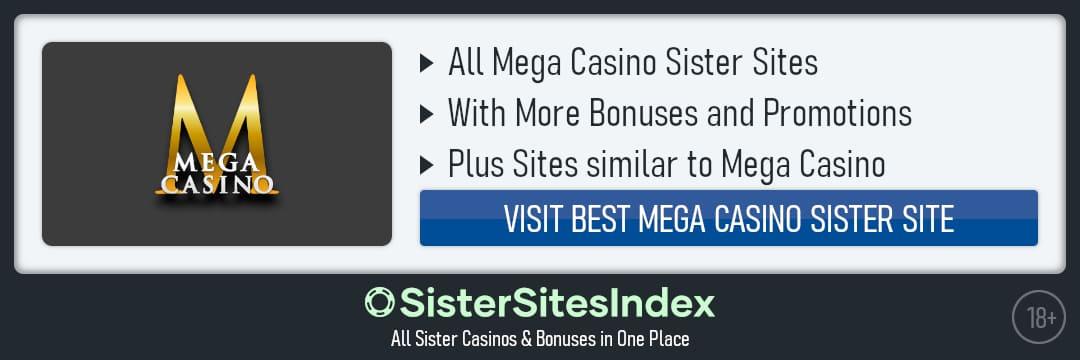 Mega Casino sister sites