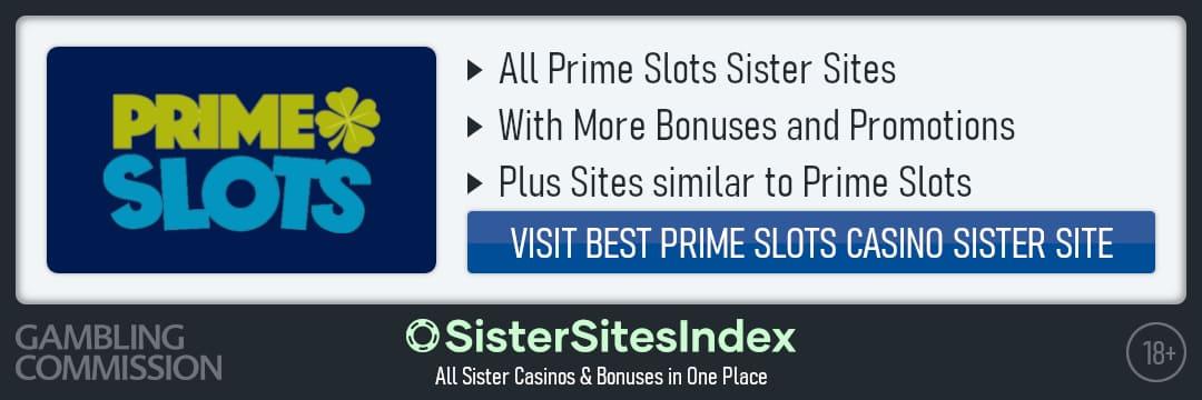 Prime Slots sister sites
