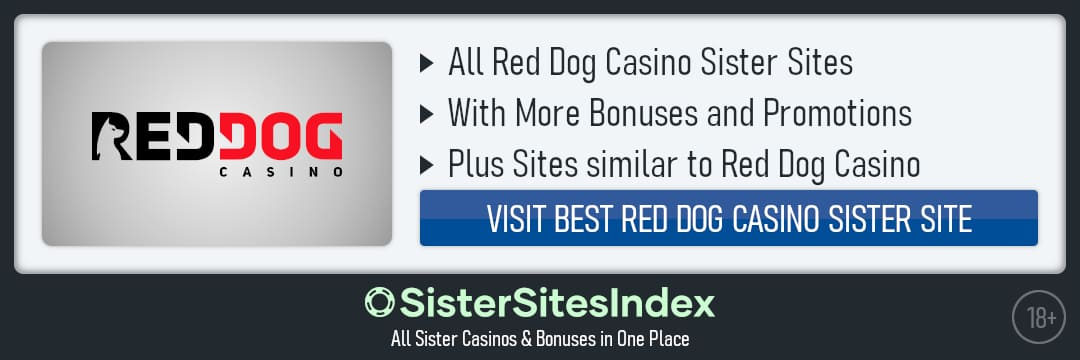 Red Dog Casino sister sites