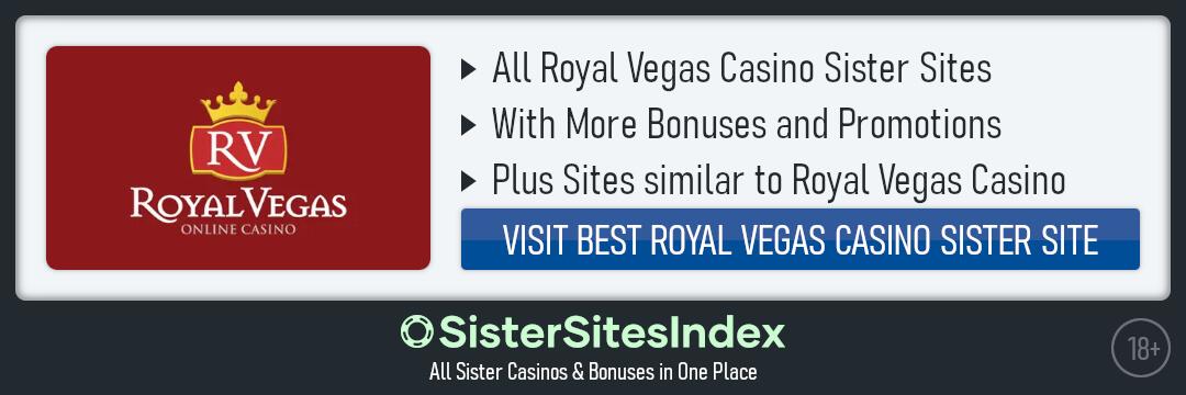 Royal Vegas Casino sister sites