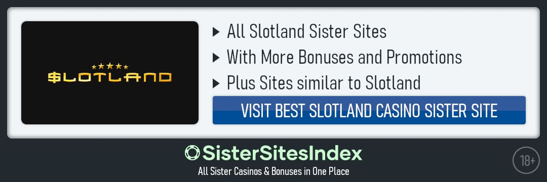 Slotland sister sites
