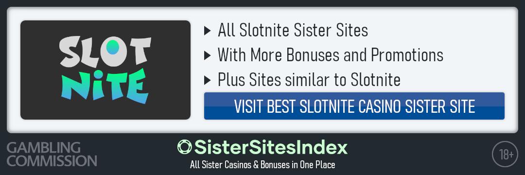 Slotnite sister sites