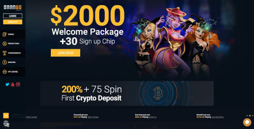 Brango Casino Bonuses