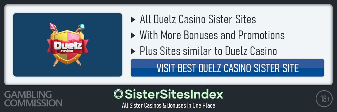 Duelz Casino sister sites