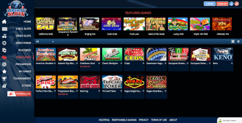 Liberty slots Games