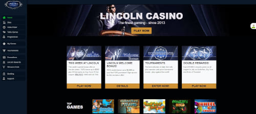 Lincoln Casino Bonuses