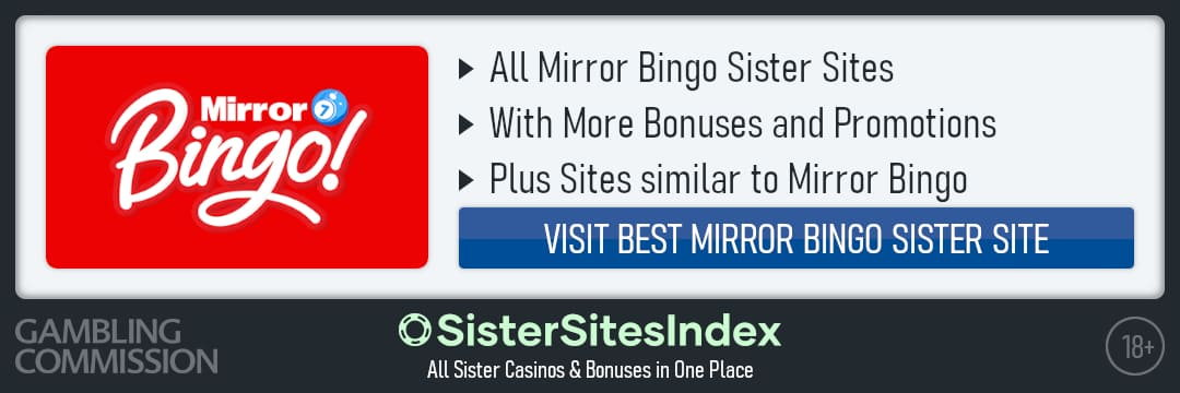 Mirror Bingo sister sites