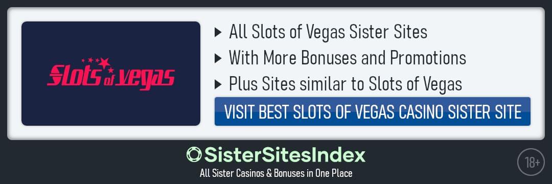 Slots of Vegas sister sites