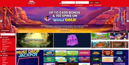 The Sun Play Homepage