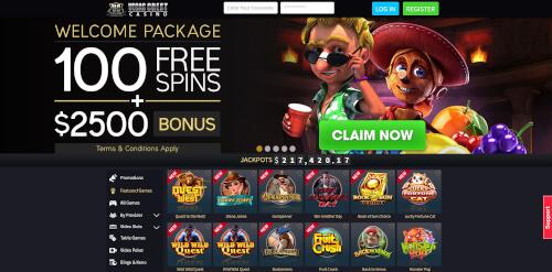Vegas Crest Bonuses