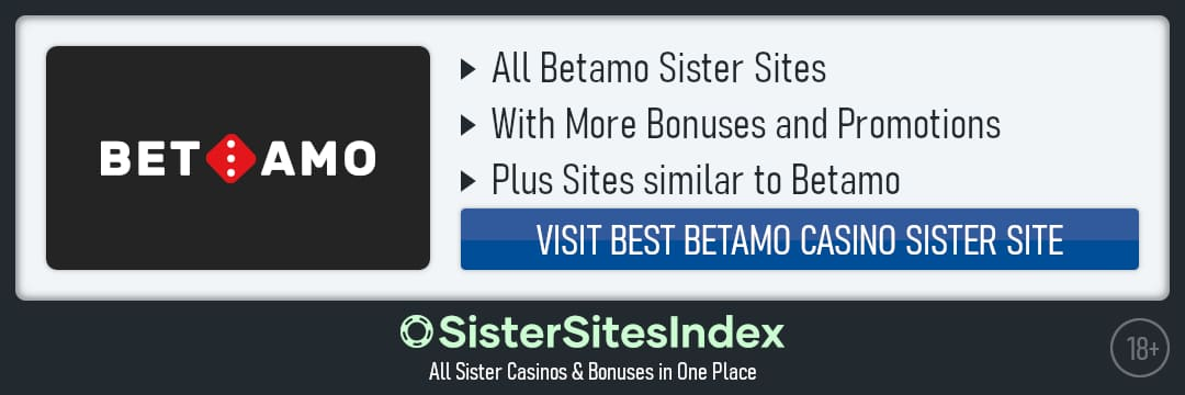 Betamo sister sites