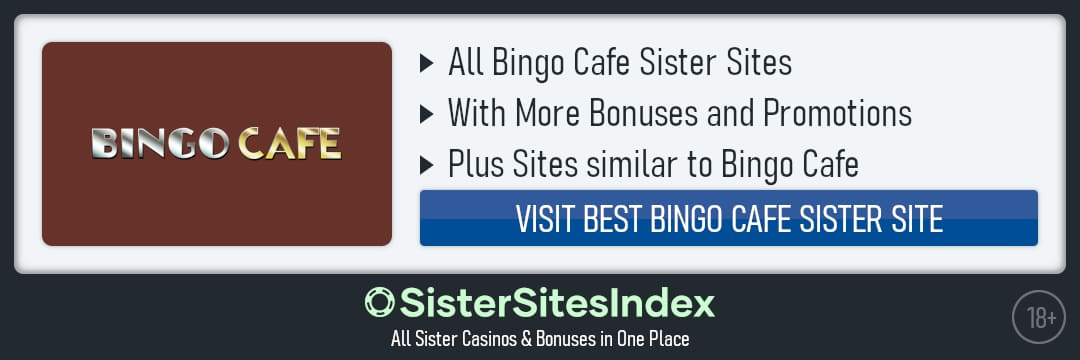 Bingo Cafe sister sites