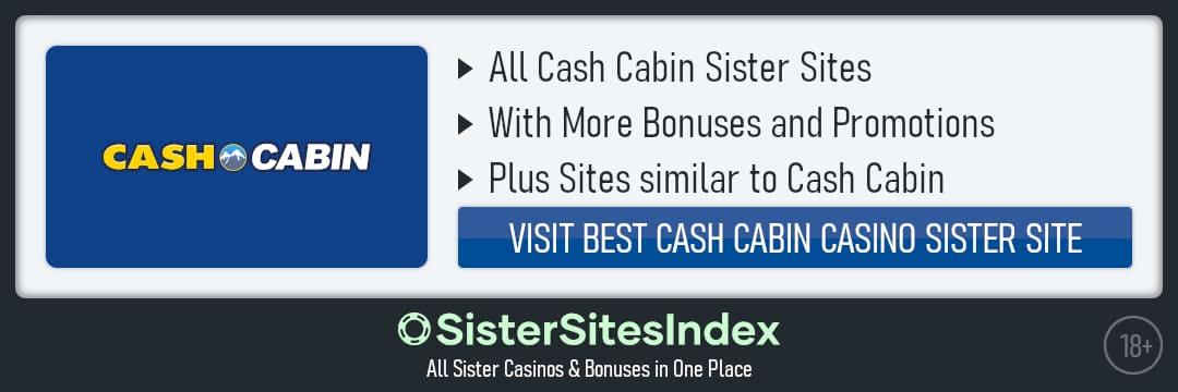Cash Cabin sister sites