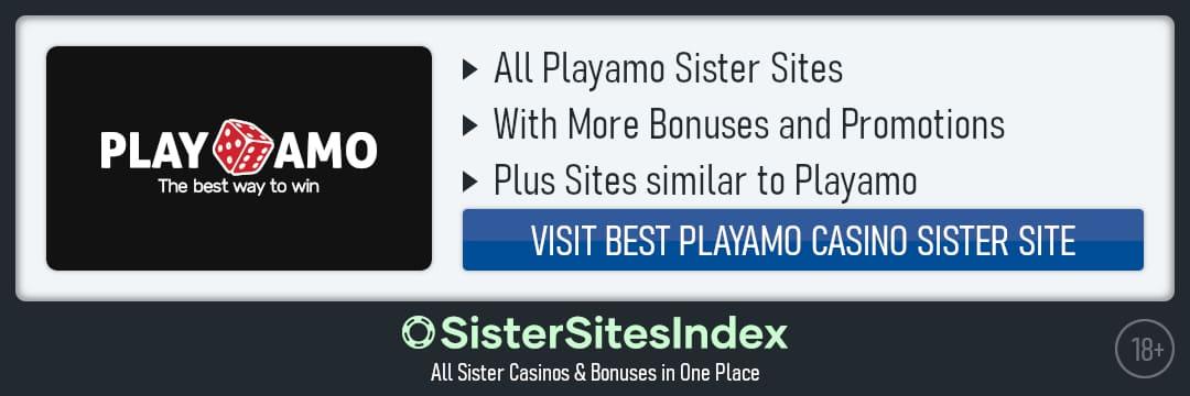 Playamo sister sites