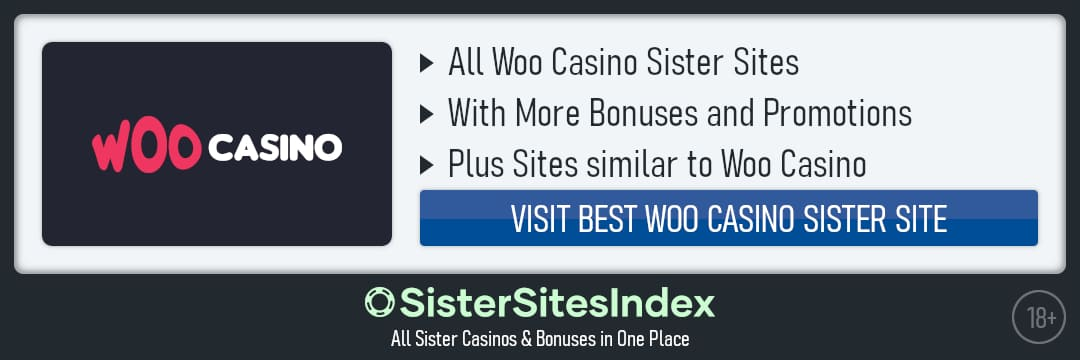 Woo Casino sister sites