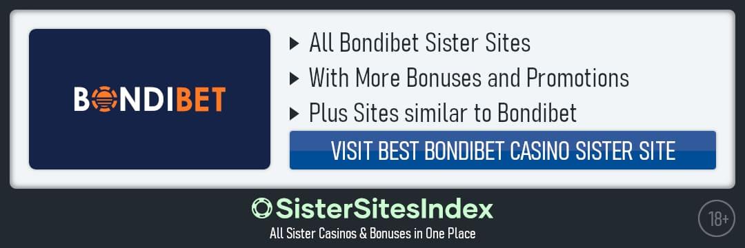 Bondibet sister sites
