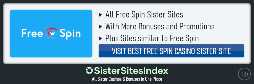 Free Spin sister sites