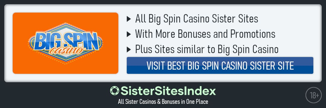 Bigspin Casino sister sites