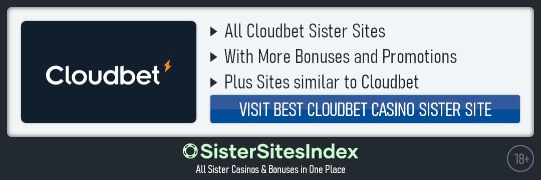 Cloudbet sister sites
