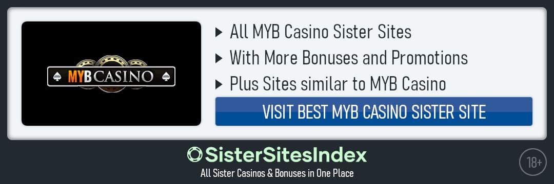 Myb Casino sister sites