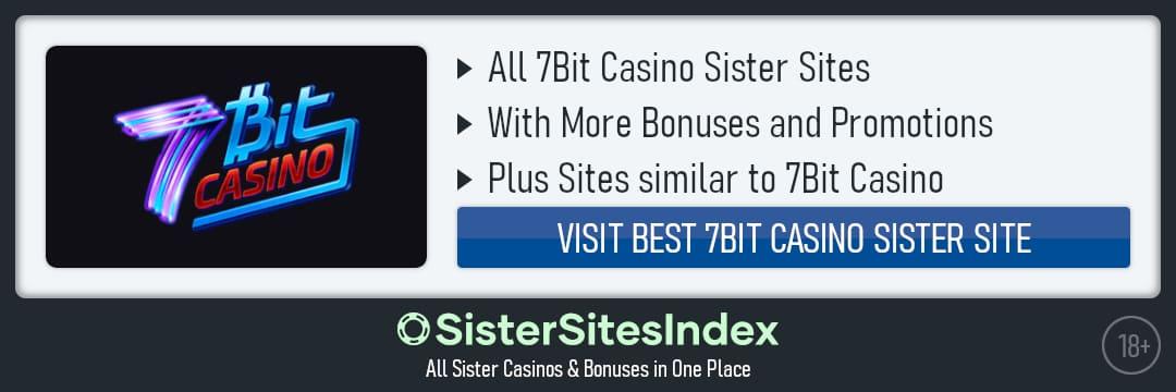 7Bit Casino sister sites