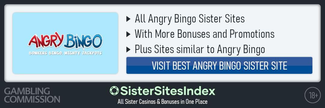 Angry Bingo sister sites