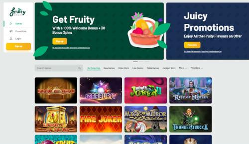 Fruity Casa Welcome Bonus