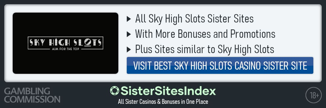 Sky High Slots sister sites
