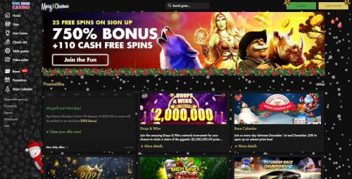 Vive Mon Casino Bonuses