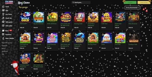 Vive Mon Casino Games