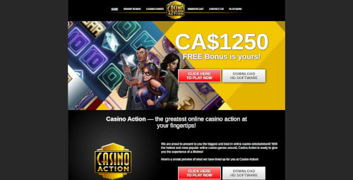 Casino Action Casino Bonuses