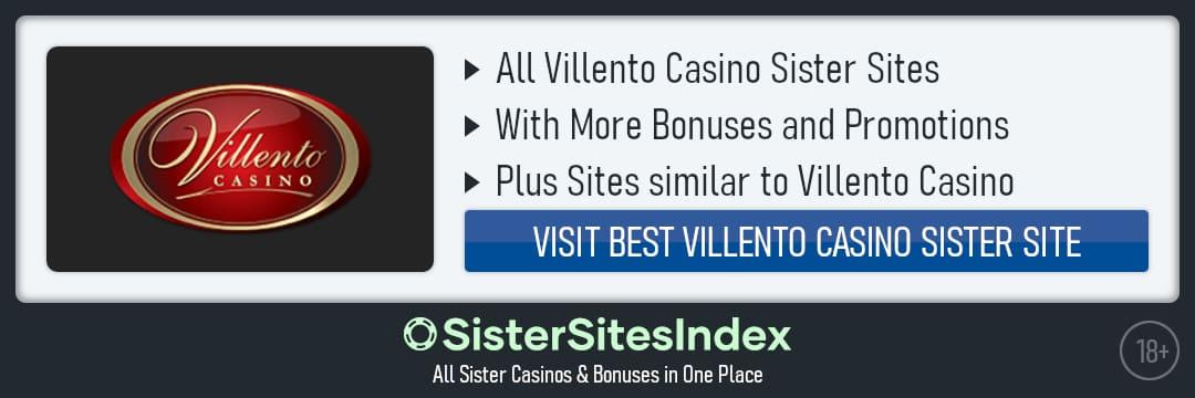 Villento Casino sister sites