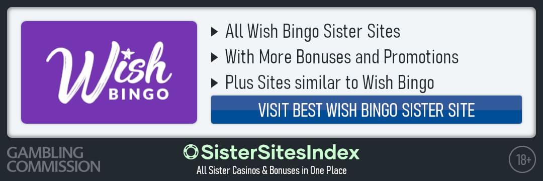 Wish Bingo sister sites