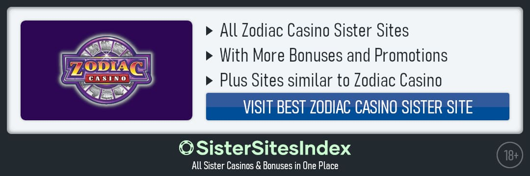 Zodiac Casino sister sites