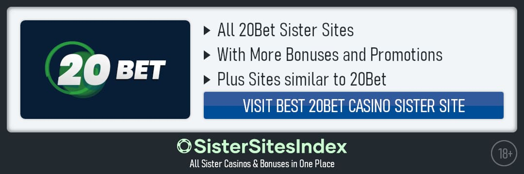 20Bet sister sites
