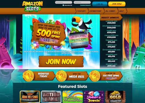 Amazon Slots casino bonuses