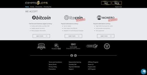 CryptoSlots Banking