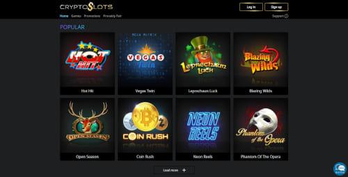 CryptoSlots Games