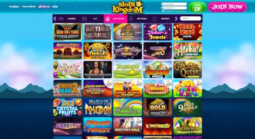 Slots Kingdom games