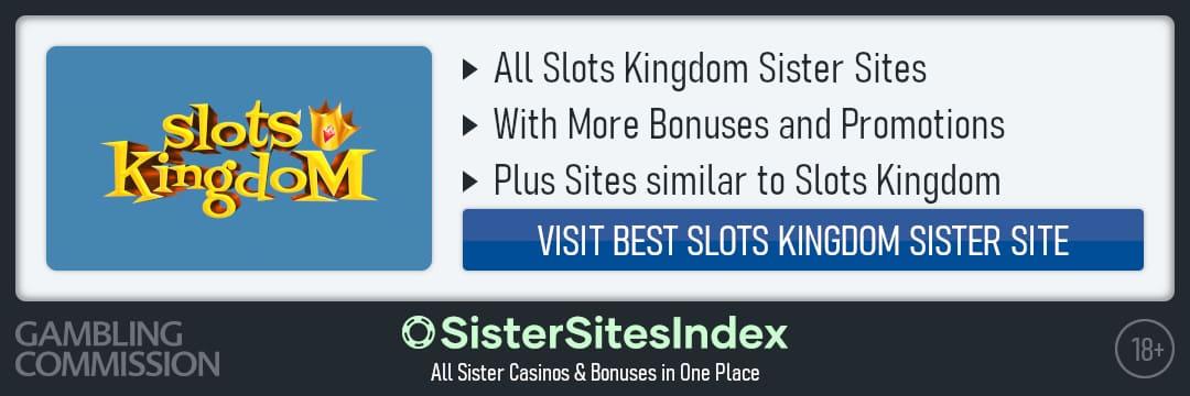 Slots Kingdom sister sites
