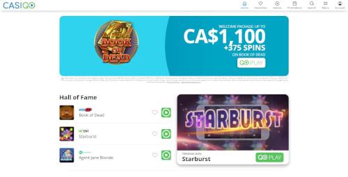 Casigo Casino Bonuses