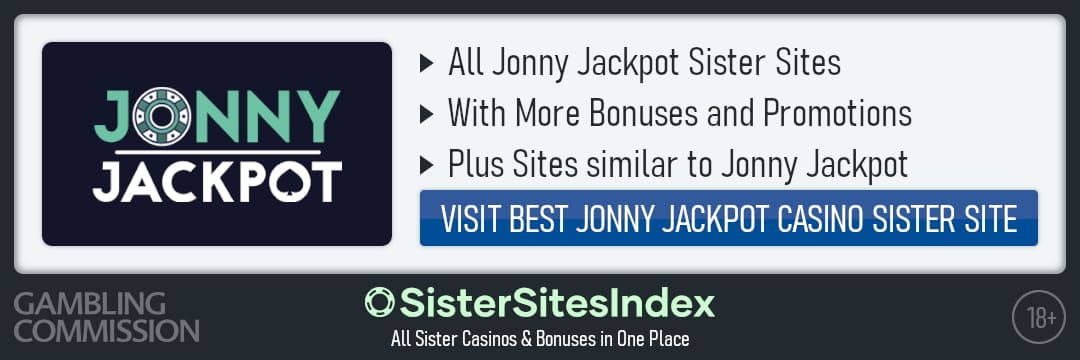 Jonny Jackpot sister sites