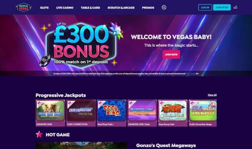Magical Vegas Bonus