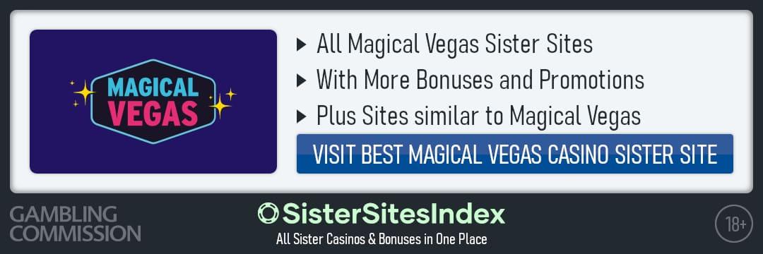 Magical Vegas sister sites