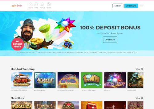 Spin and Win Casino Bonus