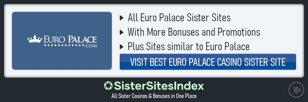 Euro Palace sister sites