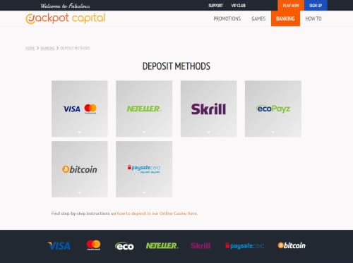 Jackpot Capital Banking