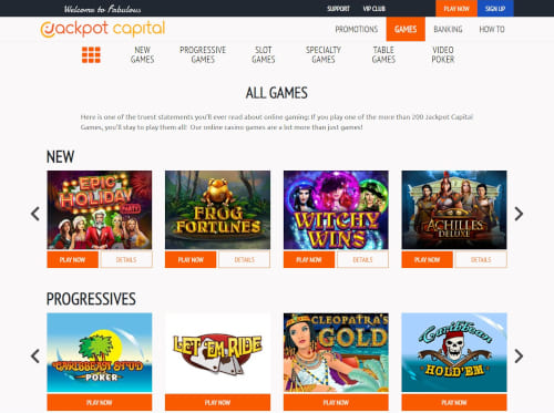 Jackpot Capital Games