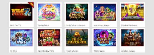 Lucky Hippo Casino Games